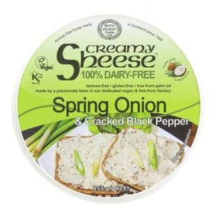 Bute Island Foods Sheese -Spring Onion & Black Pepper - 255g